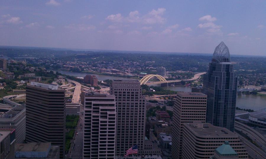 Cincinnati Cityscape 3 by gpsc