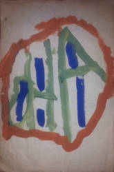 Untitled Childhood Painting by gpsc