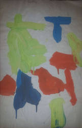 Untitled Childhood Painting 2 by gpsc