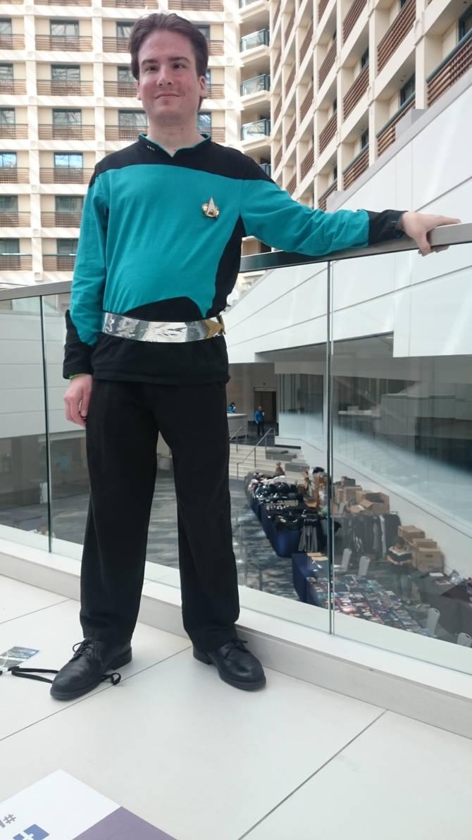 Star Trek TNG Yesterday's Enterprise Costume