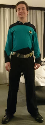 Star Trek TNG Yesterday's Enterprise Costume
