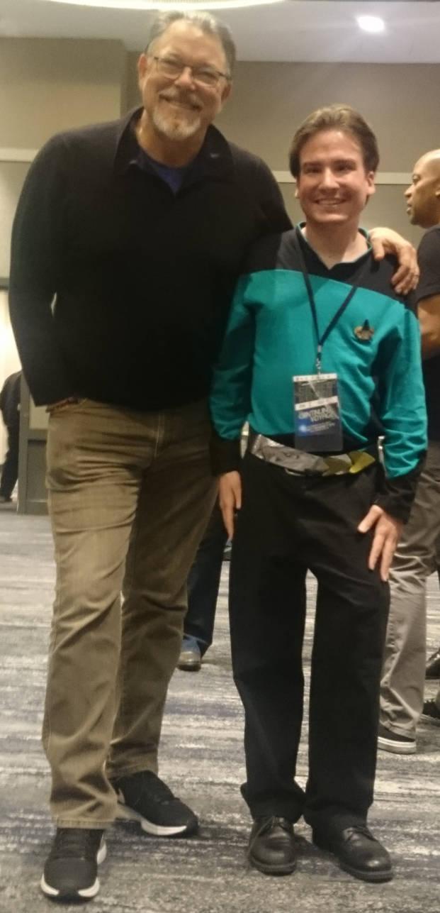 Me and Jonathan Frakes