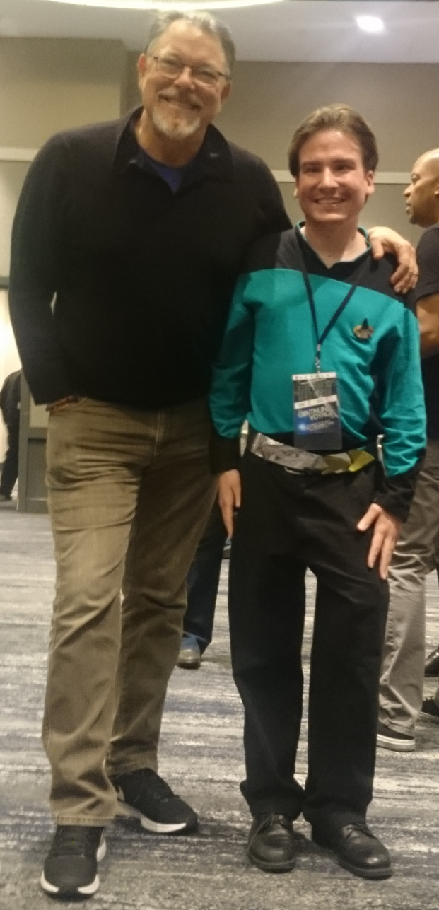 Me and Jonathan Frakes by gpsc
