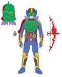 Gumnut Energy Rider (Kamen rider Gaim)