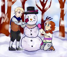 Do you wanna build a snowman? by xDestinine
