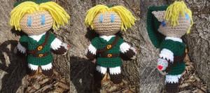 Zelda OOT: Link Crochet