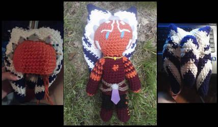 Ahsoka Tano Doll by TheCrochetDoctor