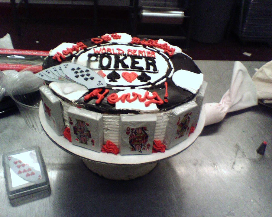 How To Make A Poker Cake