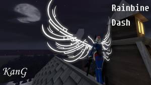 Rainbine Dash Anthro