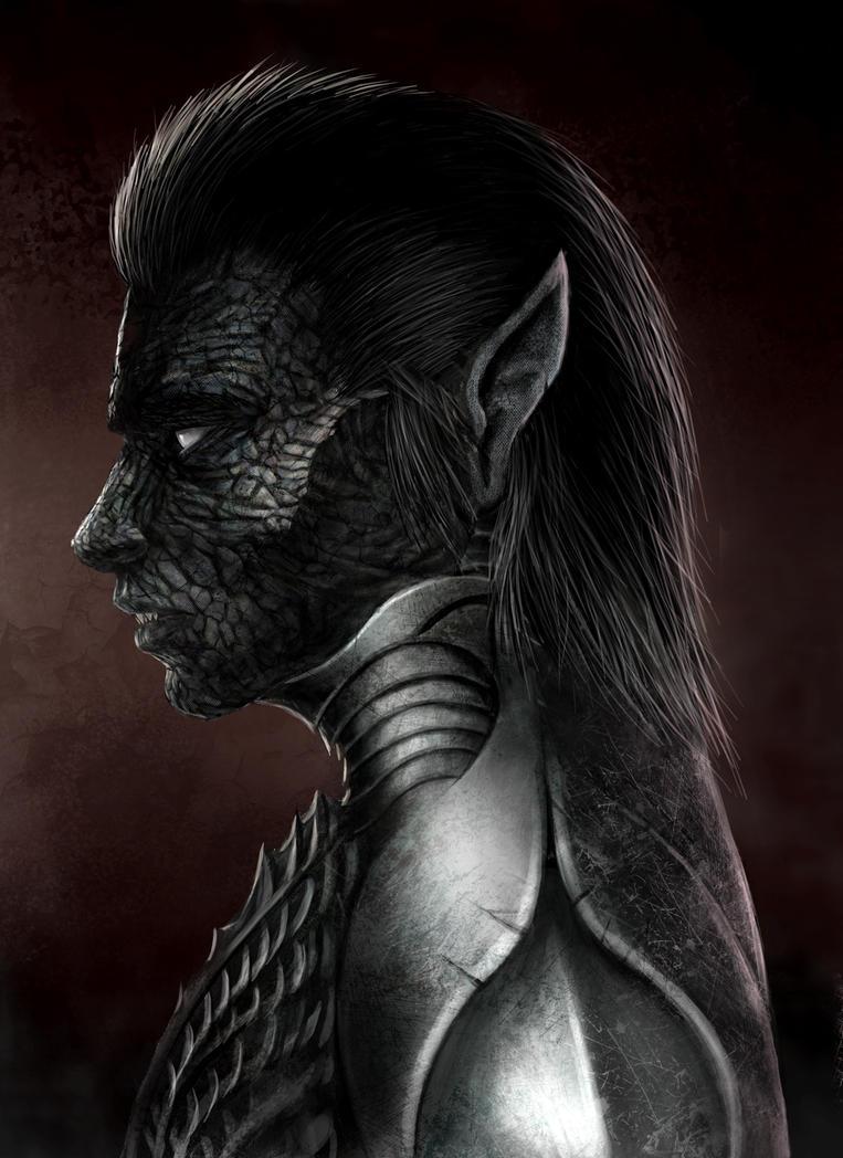 Vampire Warrior by Ribbellious