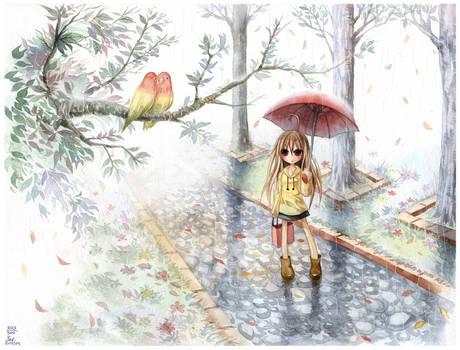 Love in the rain : 203