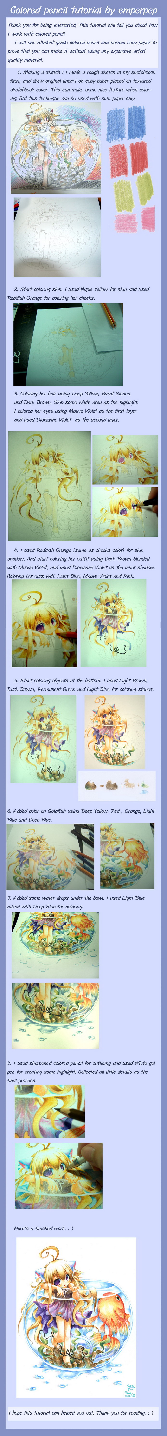 Colored pencil tutorial by emperpep on DeviantArt