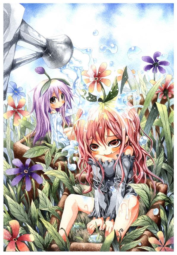 Flowers watering : 217 by emperpep