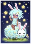 Chibi Star Bunny