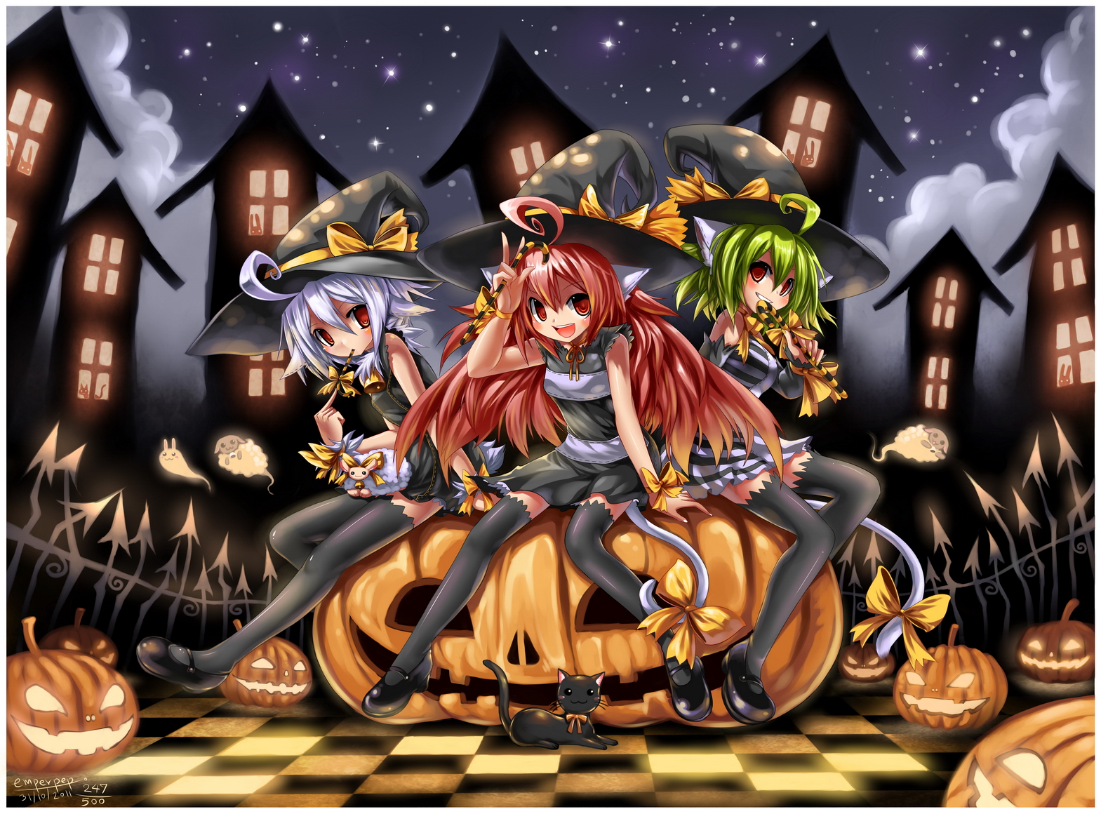 Happy Halloween 2011 : 247 by emperpep