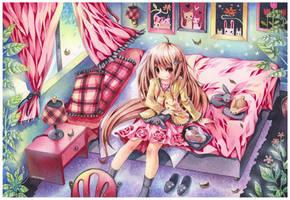 Sirena's Bedroom by emperpep