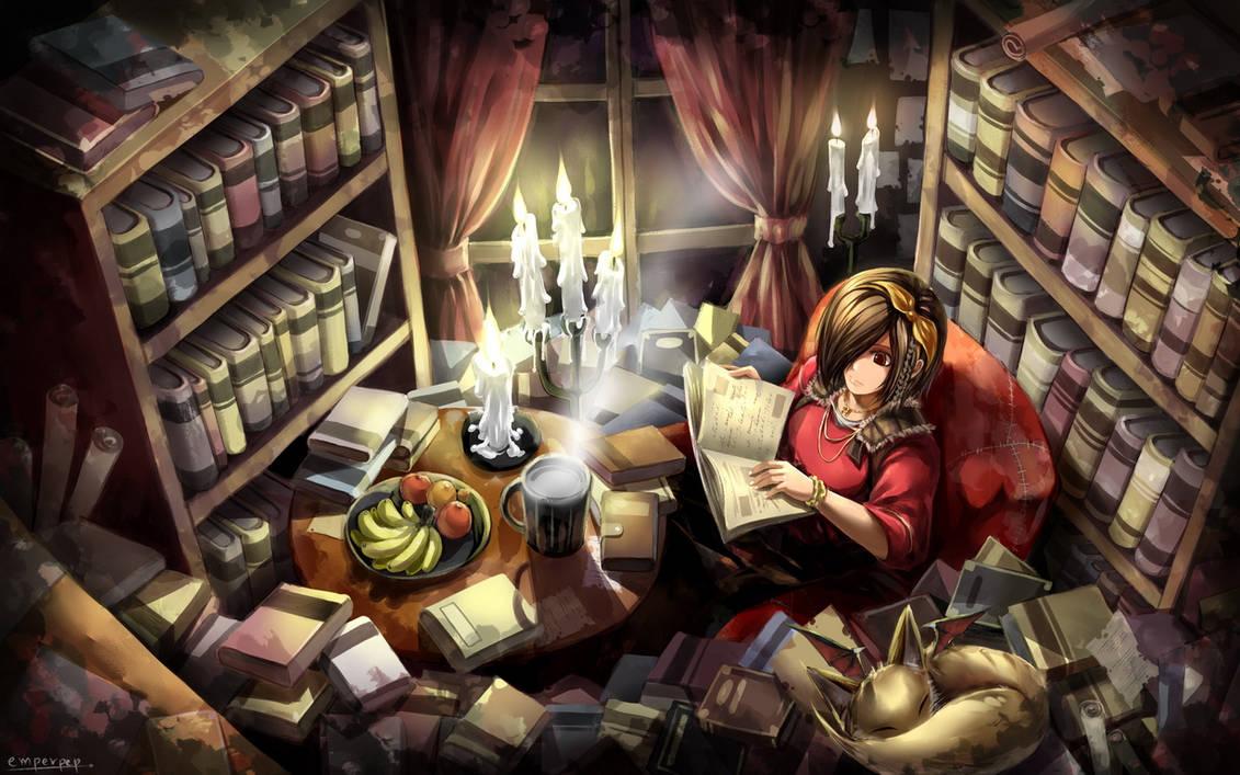Diablo 3 wallpaper art : Leah by emperpep
