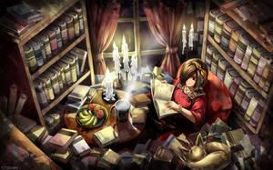 Diablo 3 wallpaper art : Leah