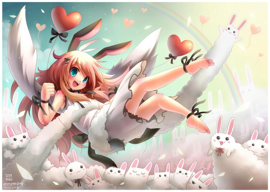 Happy valentine 2014 253 by emperpep on deviantart - Happy valentines day anime ...