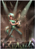 Humanized Pony : Lyra Heartstrings by emperpep