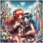Paigeeworld : Nyan and Aoi