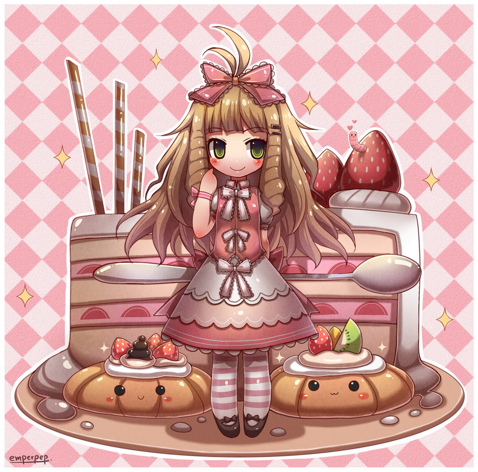 Kawaii Pastry Chibi By Emperpep On DeviantArt