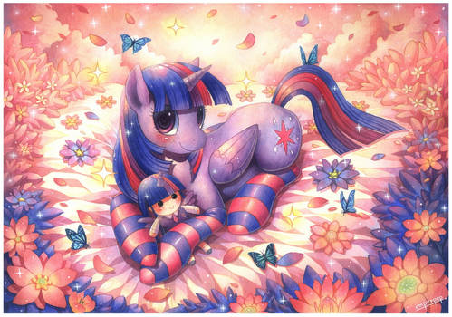 Commission : Twilight Sparkle