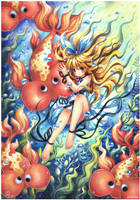 Bubble Eye Goldfish : 258