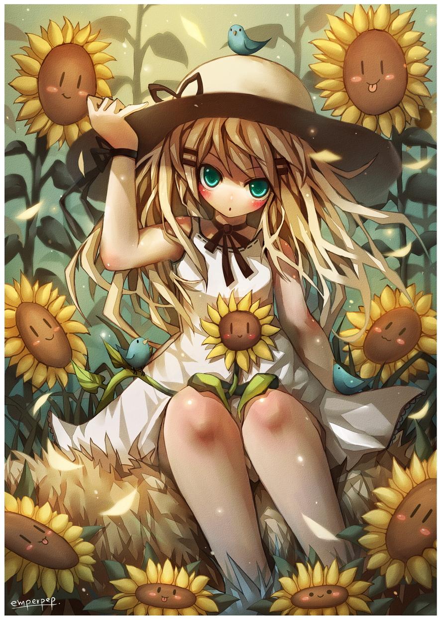 Happy Sunflower by emperpep