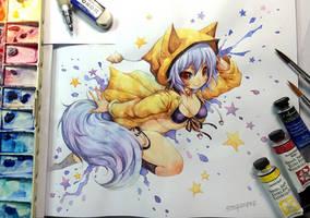 Watercolor : KitsuneYin