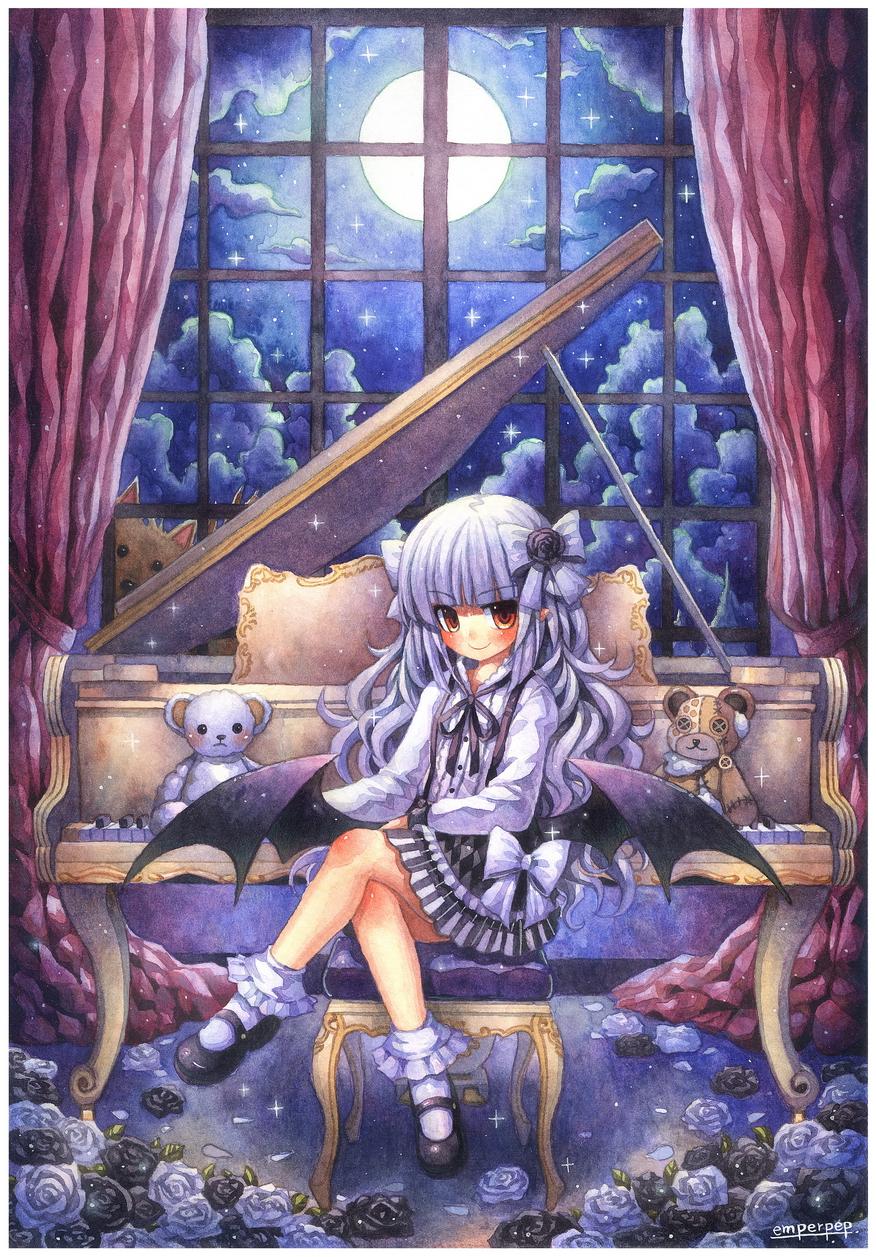 Liliorl : Blanca and werewolf by emperpep