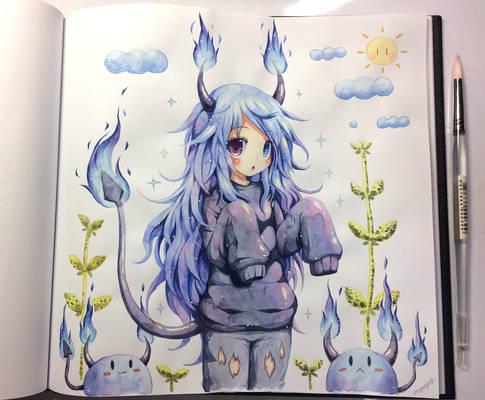 Kitsuruu's Demon girl