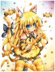 CandyCorn Catgirl