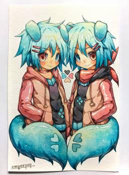 Giftart : Roku and Kudo