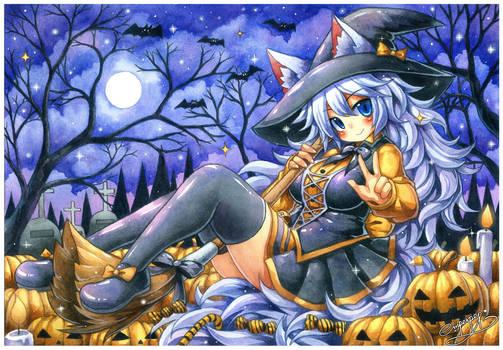 Lumi Halloween commission