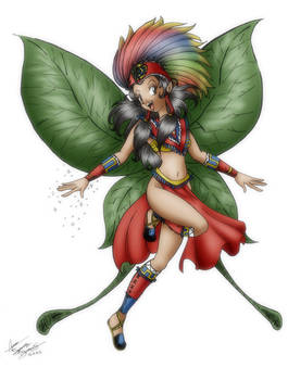 Aztec Fairy - color