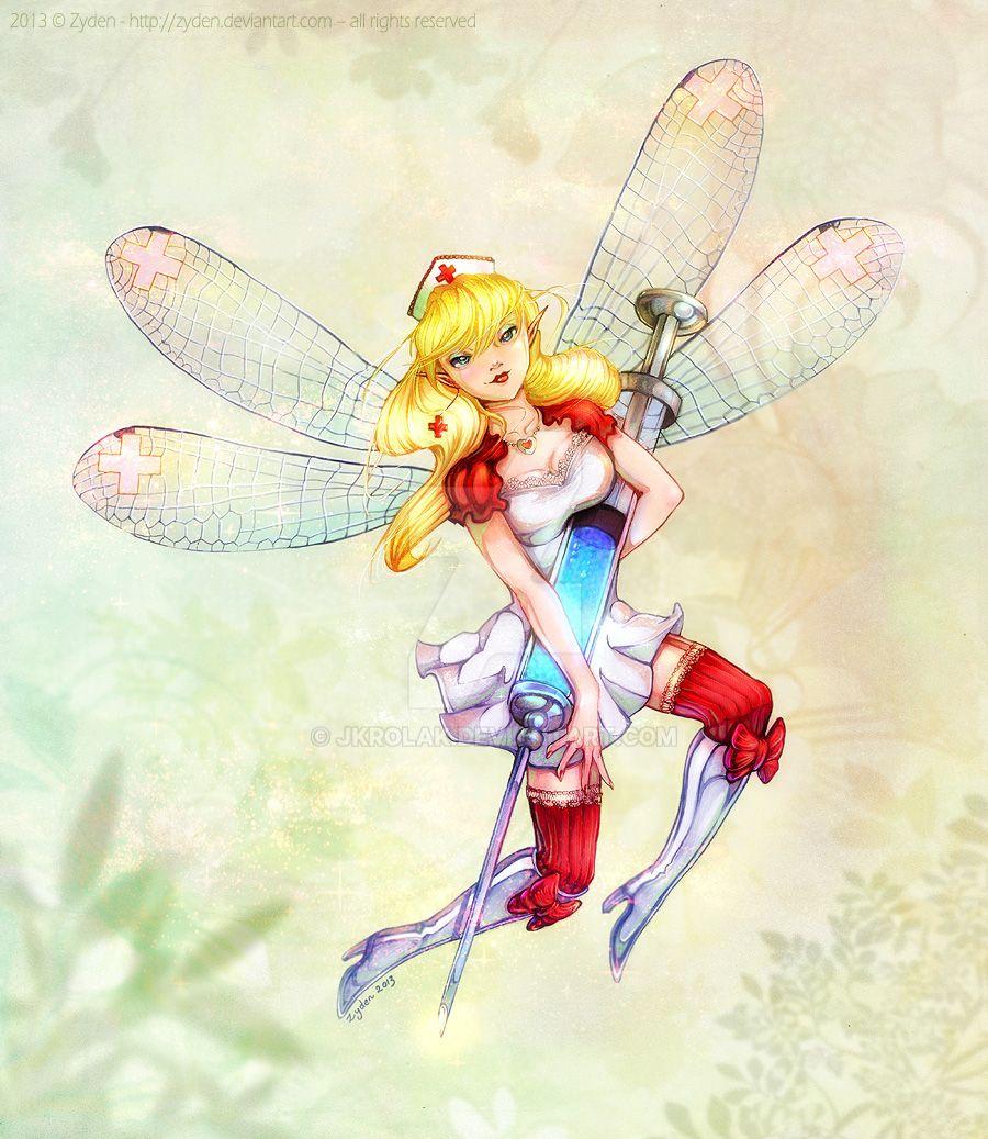 Nightingale: Needle Fairy by jkrolak