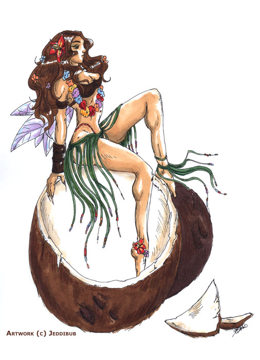 Pixie coconut Nymph by jkrolak