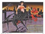 Wonder Drider and Spiderman