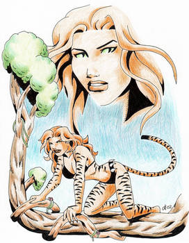 Jungle Huntress