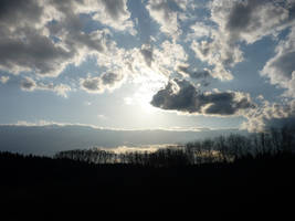 blue sky by angva