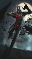 Batman Beyond by DismalFreak