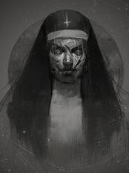 Nun by DismalFreak