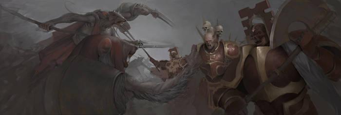Warhammer Underworlds fan art by DismalFreak