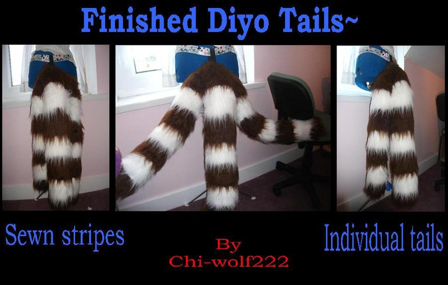 Diyo Tails~ by Saixpuppy222