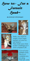 Furring a fursuit head- Tutorial~ by Saixpuppy222