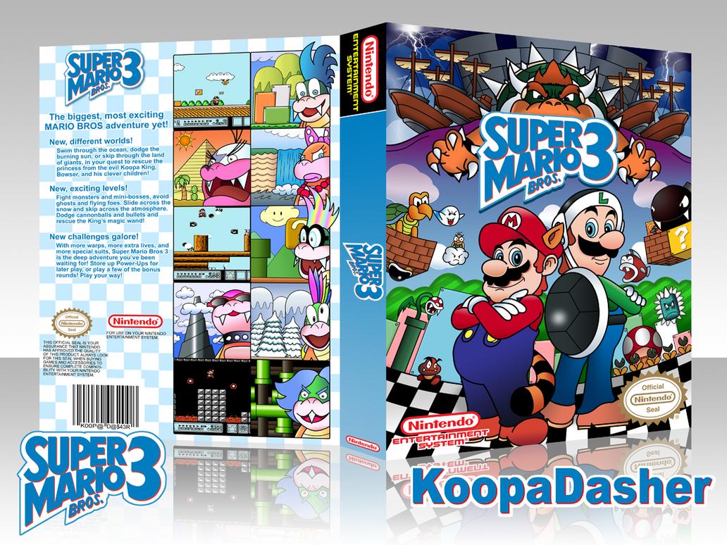 Super Mario Bros 3 Package By Thekoopadasher On Deviantart