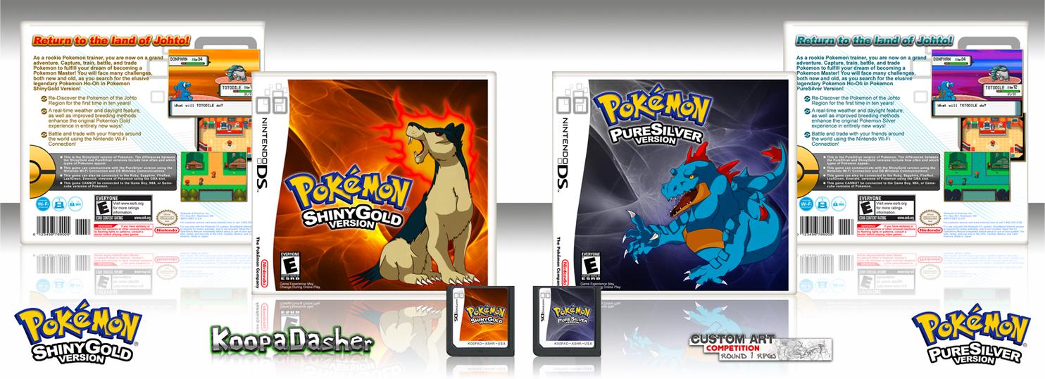 Pokemon ShinyGold + PureSilver By TheKoopaDasher On DeviantArt