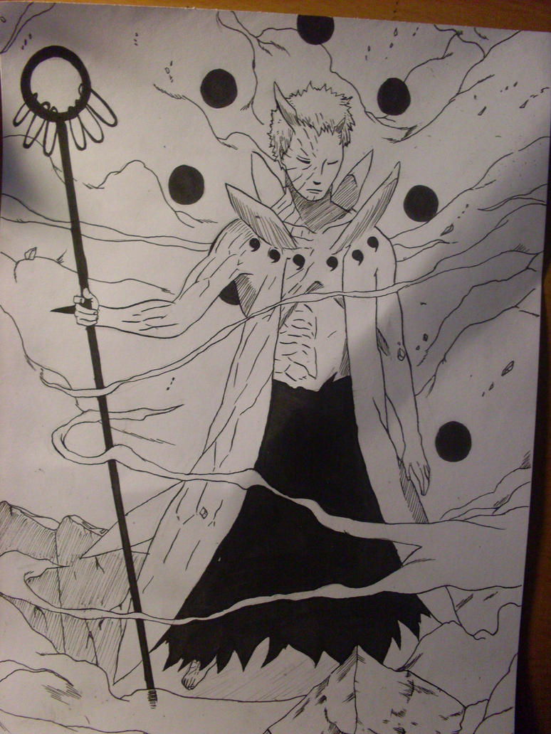 Obito ten tails jinchuriki by pakkaproject on DeviantArt