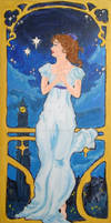 Art Nouveau Disney: Wendy